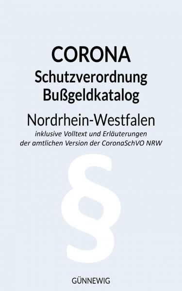 eBook: Corona - Schutzverordnung und Bußgeldkatalog inkl. Erläuterungen