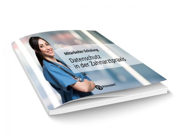 DSGVO Mitarbeiter-Schulung zum Datenschutz Schulungsheft | 21x21cm | Zahnarzt-Praxis