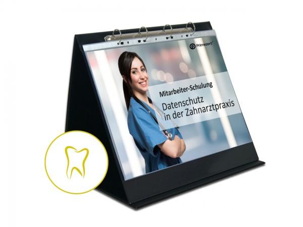 DSGVO Mitarbeiter-Schulung zum Datenschutz Präsentation und Erklärungen | A3 | Zahnarzt-Praxis