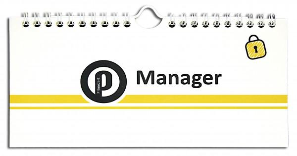 Primezert®-Manager: Der Passwort-Tisch-Organizer
